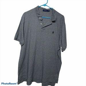 Ralph Lauren Men's XL Grey Polo